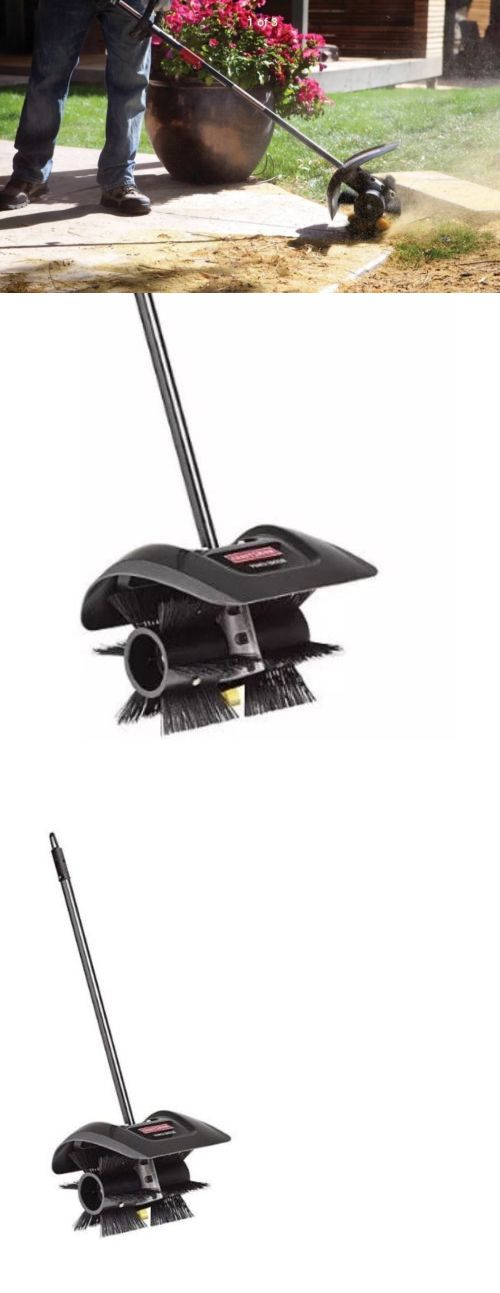String Trimmer Parts and Accs 71278: Craftsman Htf: Power Broom Attachment Weed Wacker Trimmer Snow Debris Driveway -> BUY IT NOW ONLY: $132.99 on eBay!