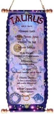 Taurus Zodiac Tapestry April 20 - May 20 Horoscope