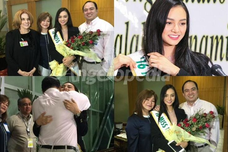 Kylie Verzosa is finally back to Philippines