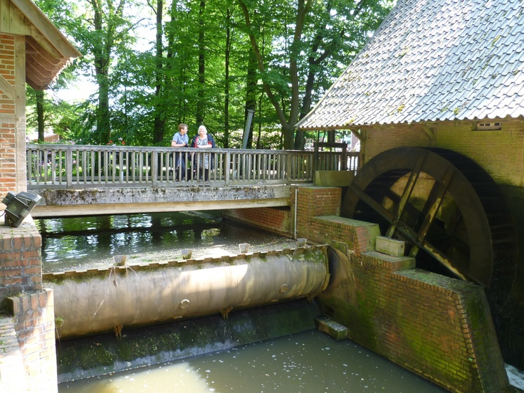 2013-06-09 Eindpunt de watermolen van de Haarmühle die ook te bezichtigen is