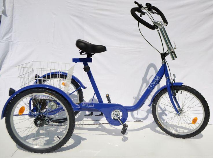 Rower trójkołowy rehabilitacyjny trybik