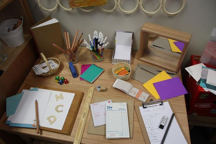 Writing area ideas