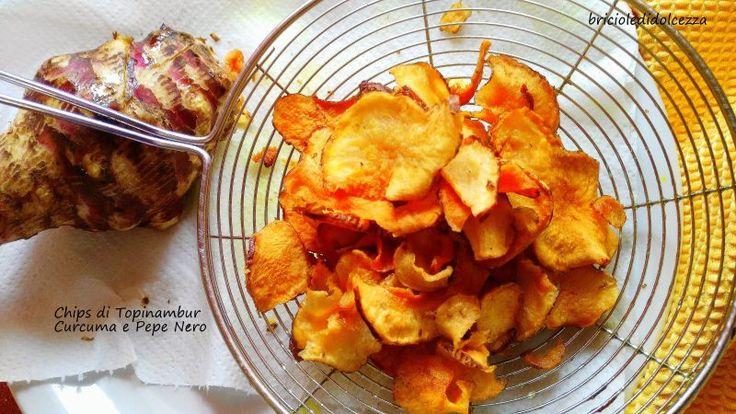 Chips+di+Topinambur+Curcuma+e+Pepe+Nero