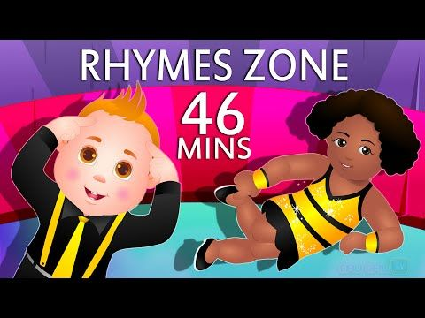 Head, Shoulders, Knees and Toes | Popular Nursery Rhymes Collection for Kids | ChuChu TV Rhymes Zone - YouTube