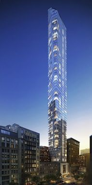 Units in 45 East 22nd Street, the glassy tower that's looking to usurp One Madison as the hottest luxury condo tower in Flatiron, will start at $2.5 million and...