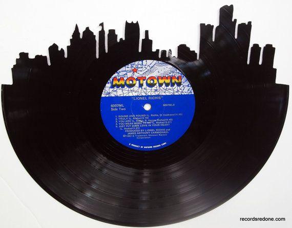 Detroit Vinyl Records And Silhouette Vinyl On Pinterest