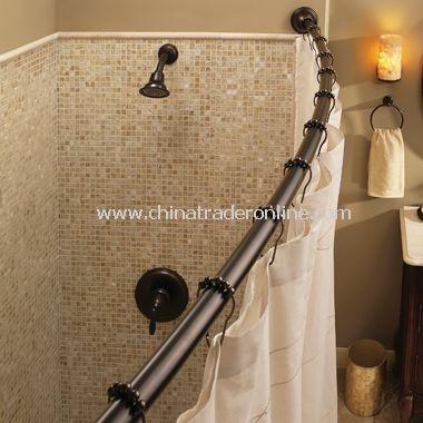Moen adjustable shower rod - bronze or brushed nickle also for my bathroom