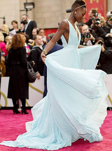 Lupita Nyong'o's Oscars 2014 ugh I still can't get over how perfect this dress is