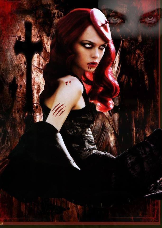 gothic vampire bloody girl - photo #24