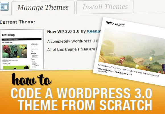 How to Code a WordPress 3.0 Theme from Scratch: 30 Wordpress, Web Design, Wordpress Webdesign, Wordpress Theme, 2011 Theme, 3 0 Theme, Learning Wordpress Design, Webdesign Resources, Thème Wordpress