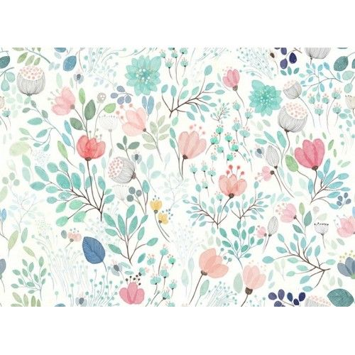 Botanicals Floral Wall Mural