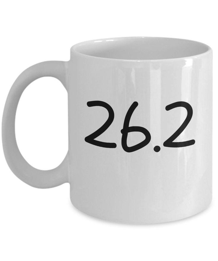 Marathon Runners 26.2K Sports Novelty Coffee Mug Custom Printed Mug