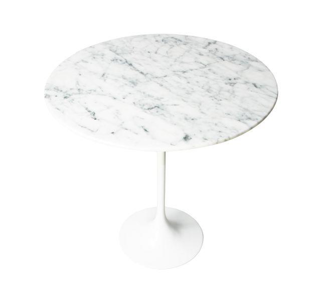 Replica Eero Saarinen Tulip Side Coffee Table In Marble Mattblatt Marble Side Tables Tulip Side Table Marble Coffee Table