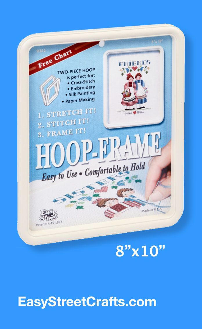 81 best square embroidery hoops hexagon embroidery hoops images most of the time you will want to use a hoop that is large enough to stitch your project without needing to move your hoop easy street crafts started with ccuart Choice Image