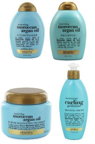 Organix Moroccan Argan Oil SUPER SET (treatment, cream, shampoo, conditioner) >>> Details can be found by clicking on the image.