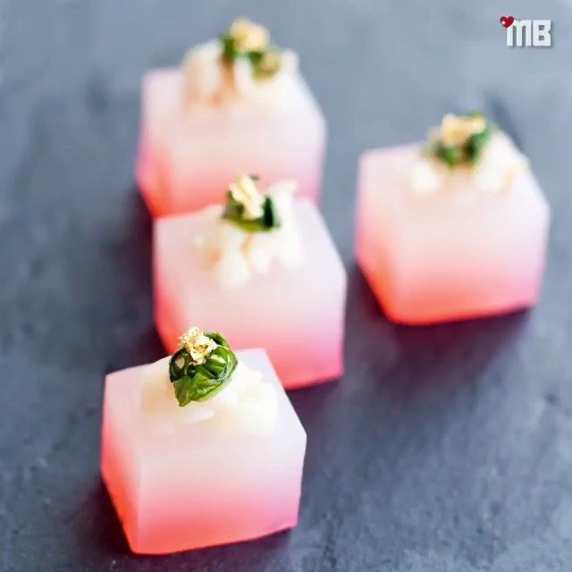 Lychee Martini Jello Shots Made With @BelvedereVodka & @Cointreau_Officiel…