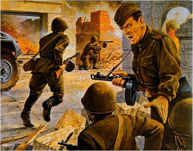 Russian Infantry (SMG Platoon)