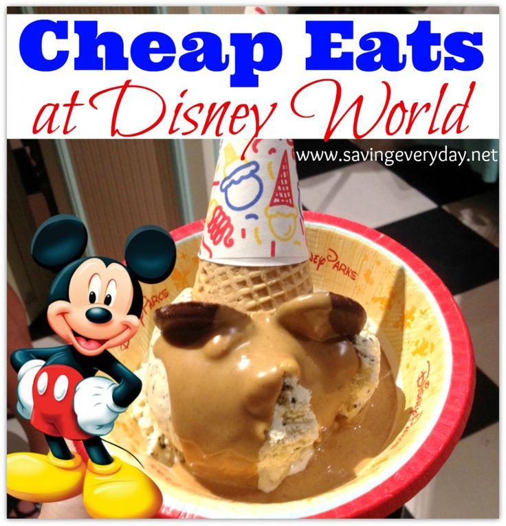 cheap eats at disney world