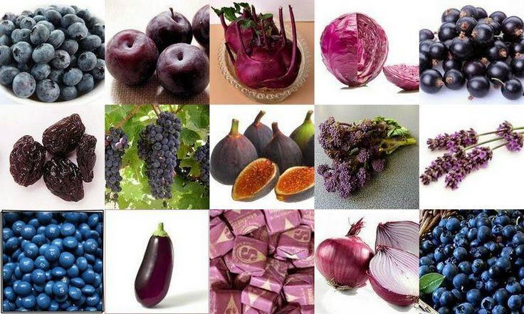 Assuntos e Achados da Scheila: Conheça os benefícios dos alimentos roxos