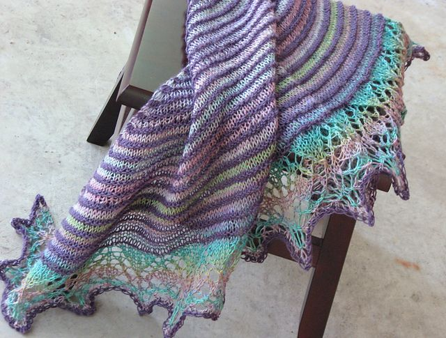 Ultimate Knitting Quiz : Best ideas about crescent shawl on pinterest knit