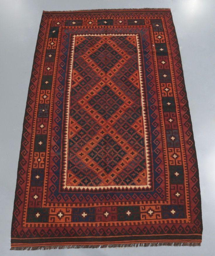 Kyber Mori Tribal Kilim (Ref 700) 252x145cm - PersianRugs.com.au