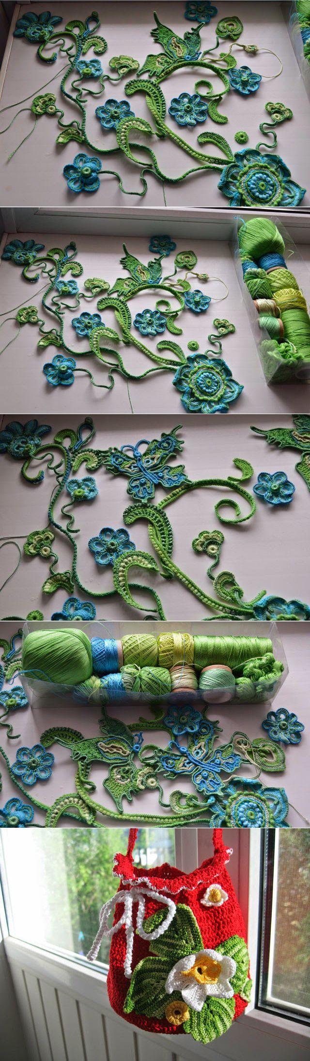 Irish crochet &: Ирландия Юлии Суворовой