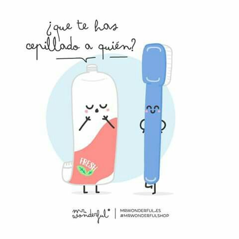 Que te has cepillado a quién? Mr Wonderful