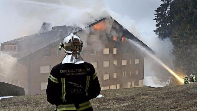 Incendie de Villars: plaque de cuisson en cause