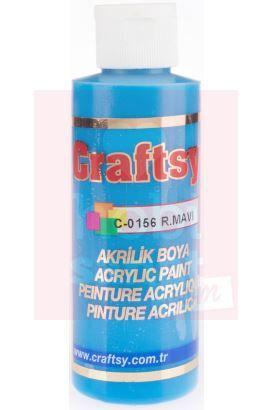 Craftsy Boya Royal Mavi - Akrilik boya ahşap boyama için kullanılan hobi boyaları https://www.hobisanat.com/akrilik-hobi-boyalari sizleri bekliyor.