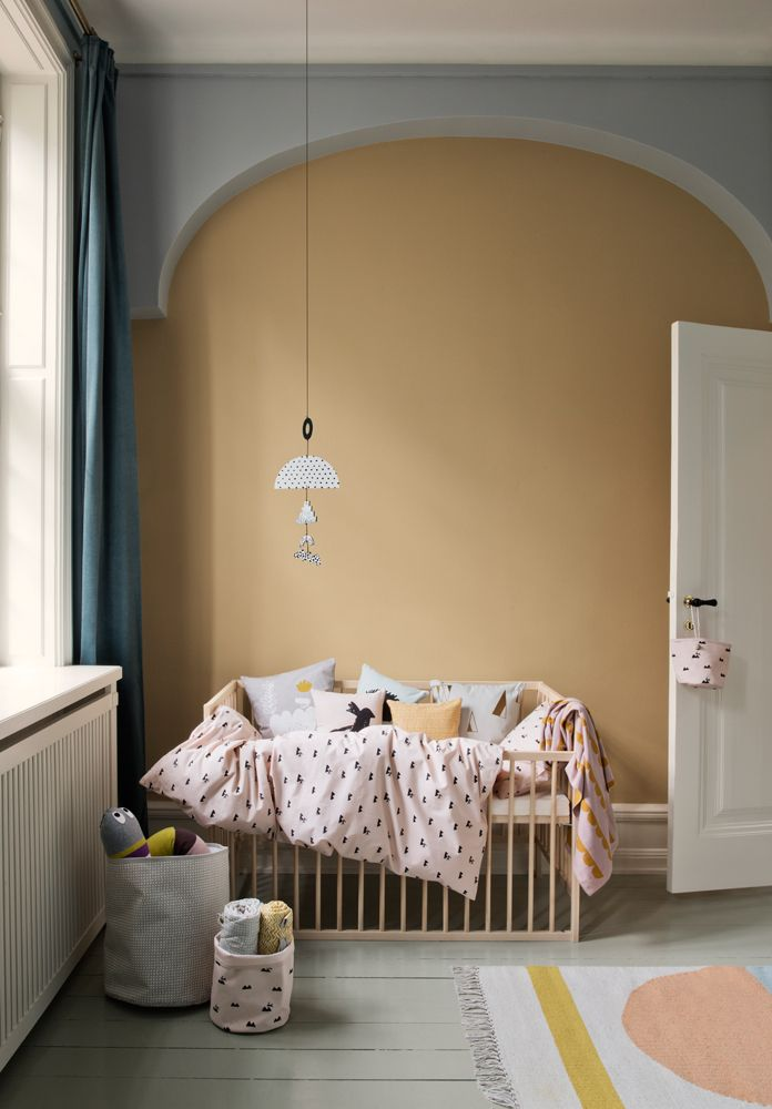 Ferm Living Kids AW15 with beautiful children's bedding, cushions and throws. Danish design.