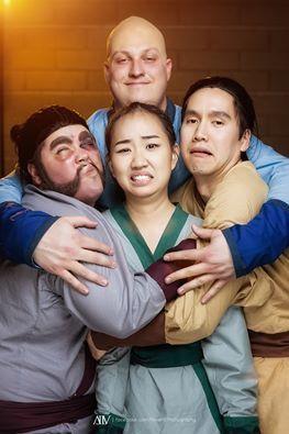 Mulan, Ling, Chien-Po, And Yao from Mulan