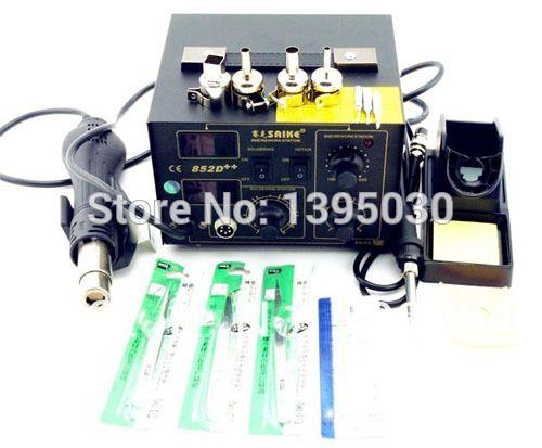 Hot Air Rework Station 1PC Hot Air Gun 700W 220V Or 110V Hot Blower Heat Gun  852D++
