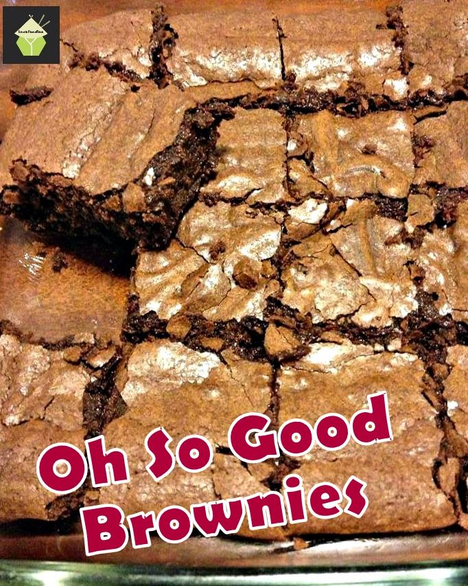'Oh So Good Brownies'..seriously, I have NEVER EVER tasted brownies like these before! They are awesome! #chocolate #brownies #baking