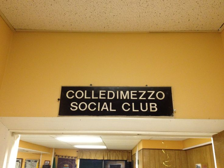 Colledimezzo social club in Elmsford, new York, USA