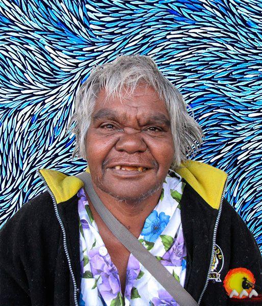Australian Aboriginal Artist Jeannie Petyarre #aboriginalart #aboriginalpainting #australianart