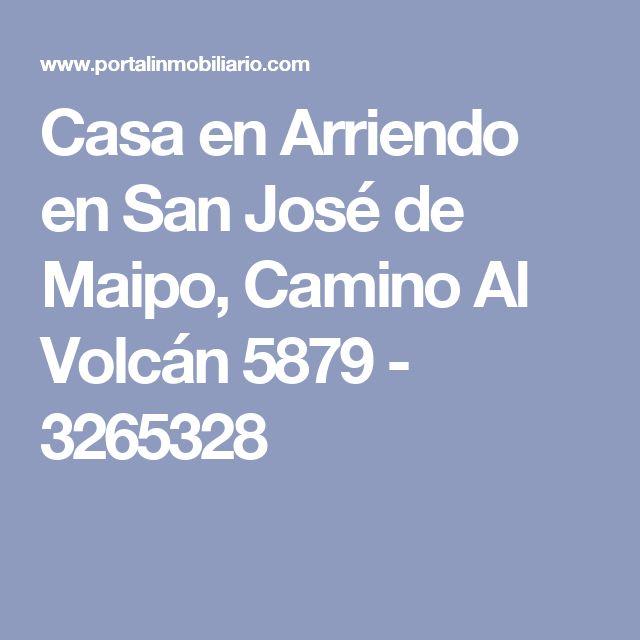 Casa en Arriendo en San José de Maipo, Camino Al Volcán 5879 - 3265328
