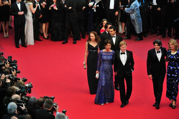 Robert Redford and Anna Gerb Photos Photos - (L-R) Producer Anna Gerb, Sibylle Szaggars, actor Robert Redford, director J.C Chandor and his wife Mary Cameron Goodyear attend the 'All Is Lost' Premiere during the 66th Annual Cannes Film Festival on May 22, 2013 in Cannes, France. - 'All Is Lost' Premieres in Cannes