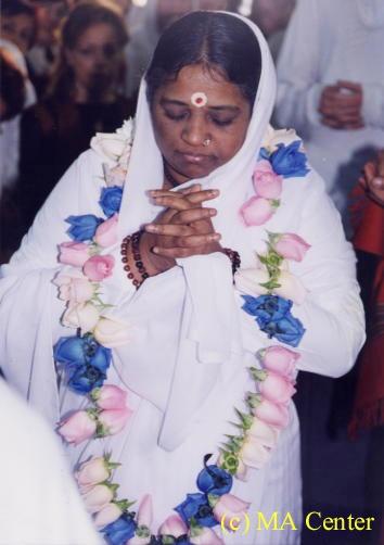 My beloved satguru!   Shri Mata Amritanandamayi Devi  jai jai maa! Aum Namah Shivaya :)