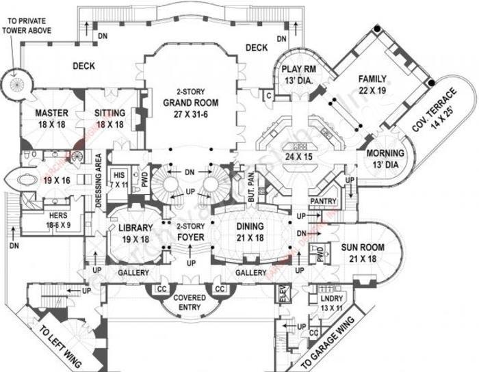 51 best castle floor plans images on pinterest floor for Best selling floor plans