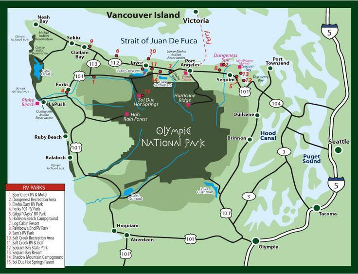 Camping Washington State Map.Camping Washington State Map Map Usa Map Images