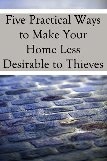After getting burglarized, this gal shares practical ways that she now makes her home less desirable to thieves. Some are SUPER easy to do!