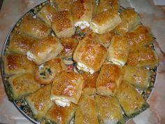 Spinazie-feta hapjes :: ...::: Madame Cuisine :::...