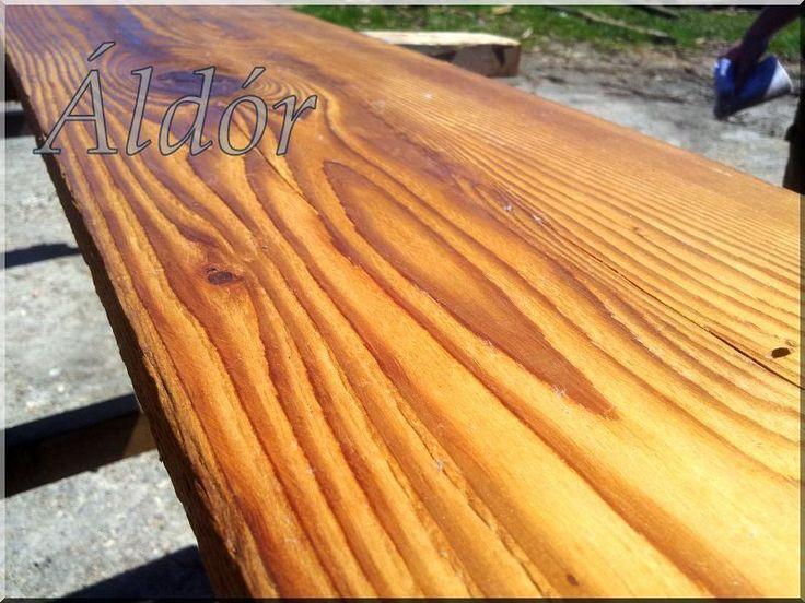 valódi, antik fenyőfa deszka, padlásdeszka