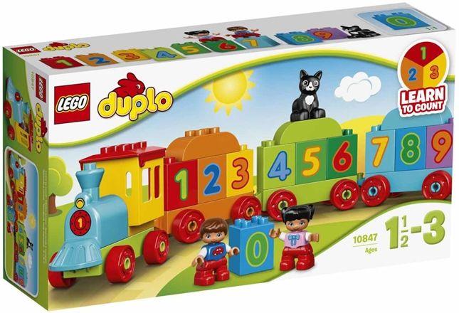 10847 LEGO Duplo Siffertåg