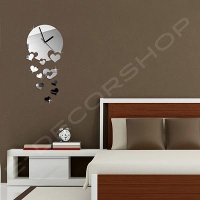 Die besten 25+ Spiegel Wanduhr Ideen auf Pinterest DIY Wanduhren - wanduhr design wohnzimmer