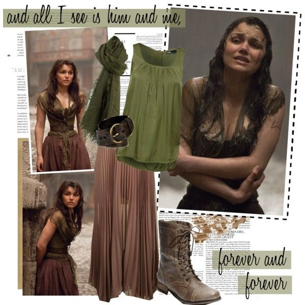 """Les Miserables's Eponine (film)"" by alittlebelle on Polyvore"