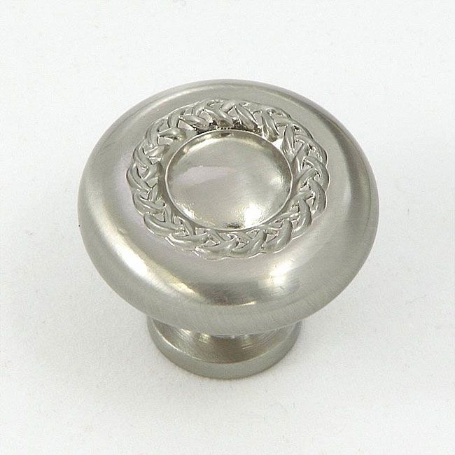 Update Your Kitchen Cabinets With This Set Of 10 Pretty Nickel Cabinet Knobs.  These Knobs