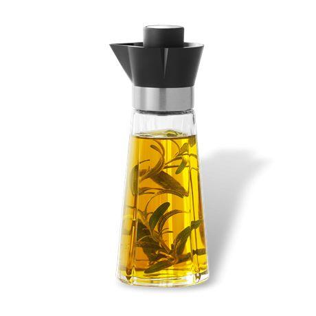 Karafka do oliwy/octu (mała 200 ml) GRAND CRU - ROSENDAHL - DECO Salon. #carafe #oliveoil #vinegar #kitchenaccessories #dladomu #kuchnia #herbs #spices