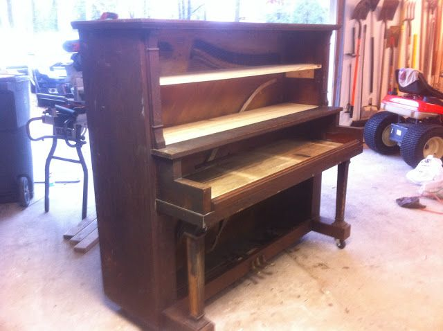 Convert An Old Piano Into A Keyboard Stand