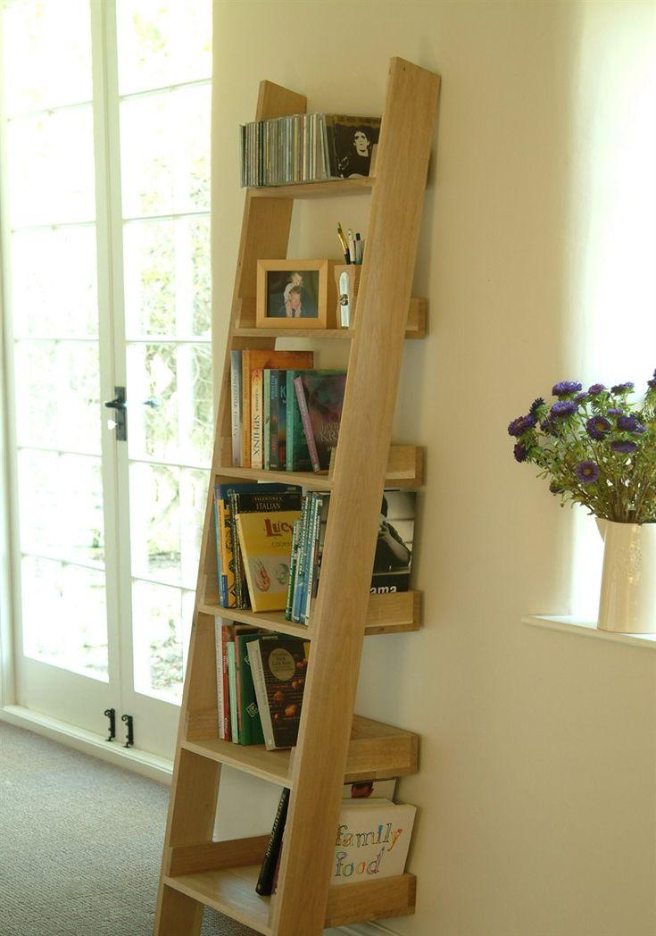 Raw Oak Shelf Ladder | Garden Trading